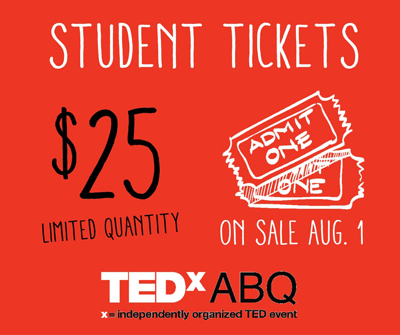 $25 Student 2016 Main Event Tickets