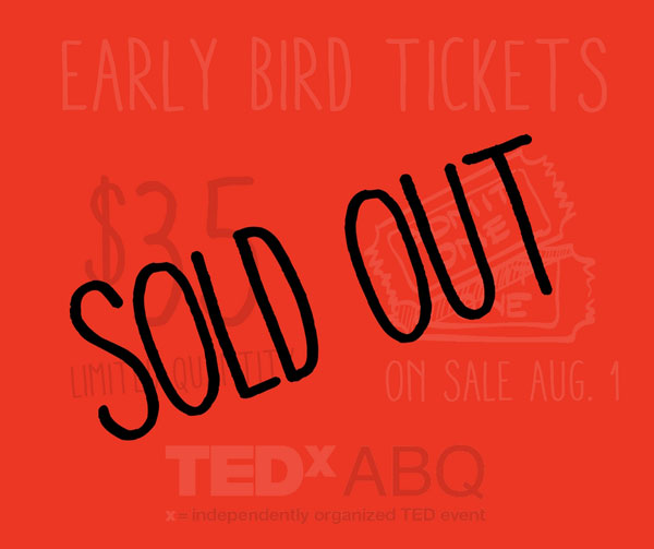 Sold Out - $35 Tickets