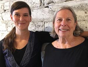 JoAnne Tucker and Aine Pierandi McCarthy Headshots