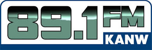 89.1 FM KANW Logo